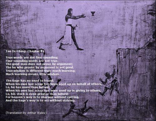 Tao Te Ching 81